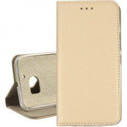BOOK MAGNET ETUI NA TELEFON HTC 10 ZŁOTY