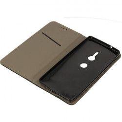 BOOK MAGNET ETUI NA TELEFON SONY XPERIA XZ2 H8216 CZARNY
