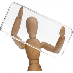 CLEAR 0.5mm ETUI NA TELEFON HTC DESIRE 626 TRANSPARENTNY
