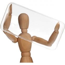 CLEAR 0.5mm ETUI NA TELEFON HTC ONE M9 TRANSPARENTNY