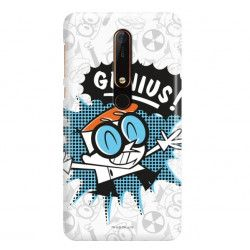 ETUI NA TELEFON NOKIA 6.1 TA-1089 CARTOON NETWORK DX105 CLASSIC LABORATORIUM DEXTERA