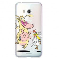 ETUI NA TELEFON HTC U11 CARTOON NETWORK KK176 CLASSIC KROWA I KURCZAK