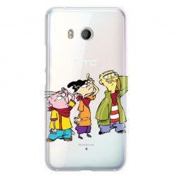 ETUI NA TELEFON HTC U11 CARTOON NETWORK ED122 CLASSIC Ed, Edd i Eddy