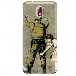 ETUI NA TELEFON NOKIA 3.1 TA-1063 BANKSY WZÓR BK135