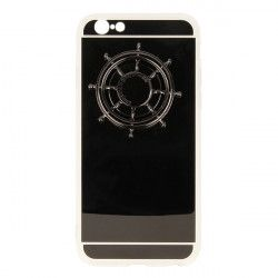 MIRROR SPINNER ETUI NA TELEFON IPHONE 6 4,7''A1586/A1688 SZARY