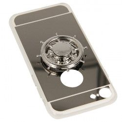 MIRROR SPINNER ETUI NA TELEFON IPHONE 7 4.7'' 8 4.7'' A1778/A1905 SREBRNY