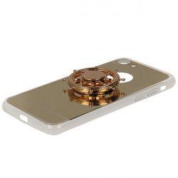MIRROR SPINNER ETUI NA TELEFON IPHONE 7 4.7'' 8 4.7'' A1778/A1905 ZŁOTY