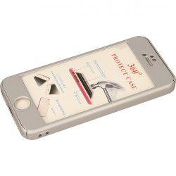 COBY FULL BODY ETUI NA TELEFON IPHONE 5G A1428 SREBRNY