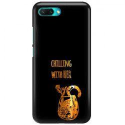 NEON GOLD ETUI NA TELEFON HUAWEI HONOR 10 COL-AL00 MIENIĄCE SIĘ ZLC106