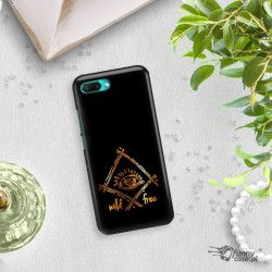 NEON GOLD ETUI NA TELEFON HUAWEI HONOR 10 COL-AL00 MIENIĄCE SIĘ ZLC115