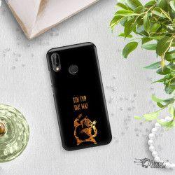 NEON GOLD ETUI NA TELEFON HUAWEI P20 LITE ANE-AL00 MIENIĄCE SIĘ ZLC100