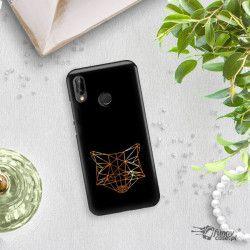 NEON GOLD ETUI NA TELEFON HUAWEI P20 LITE ANE-AL00 MIENIĄCE SIĘ ZLC101