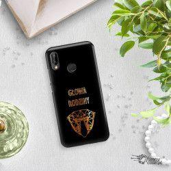 NEON GOLD ETUI NA TELEFON HUAWEI P20 LITE ANE-AL00 MIENIĄCE SIĘ ZLC107