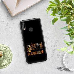 NEON GOLD ETUI NA TELEFON HUAWEI P20 LITE ANE-AL00 MIENIĄCE SIĘ ZLC108