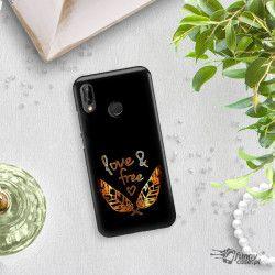 NEON GOLD ETUI NA TELEFON HUAWEI P20 LITE ANE-AL00 MIENIĄCE SIĘ ZLC113