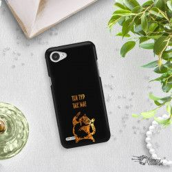 NEON GOLD ETUI NA TELEFON LG Q6 M700A MIENIĄCE SIĘ ZLC100