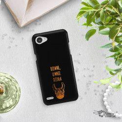 NEON GOLD ETUI NA TELEFON LG Q6 M700A MIENIĄCE SIĘ ZLC102