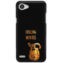 NEON GOLD ETUI NA TELEFON LG Q6 M700A MIENIĄCE SIĘ ZLC106