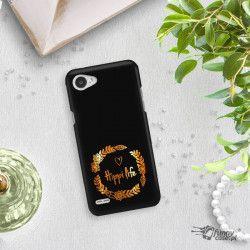 NEON GOLD ETUI NA TELEFON LG Q6 M700A MIENIĄCE SIĘ ZLC116