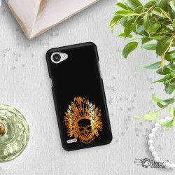 NEON GOLD ETUI NA TELEFON LG Q6 M700A MIENIĄCE SIĘ ZLC120