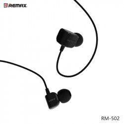 SŁUCHAWKI REMAX RM-502 CZARNE