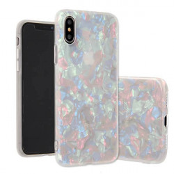 ETUI GUMA CRUSH LUXURY BLING IPHONE X/XS BIAŁY