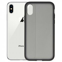 ETUI IRON CASE SMOOTH IPHONE X/XS CZARNY