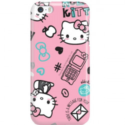 APPLE IPHONE 5 / 5S / SE  HELLO KITTY WZÓR HK128