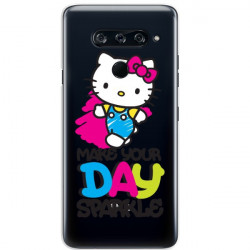 LG V40  HELLO KITTY WZÓR HK104