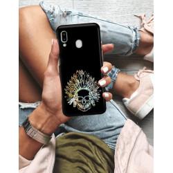 ETUI NA TELEFON SAMSUNG GALAXY A20E NEON MIENIĄCE SIĘ ZLN120