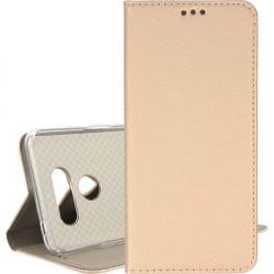 ETUI BOOK MAGNET NA TELEFON LG K50S ZŁOTY