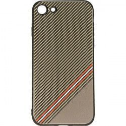 GRID CASE ETUI NA TELEFON IPHONE 7 4.7'' 8 4.7'' A1784 /A1987 BRĄZOWY