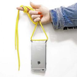 ETUI CROSSBODY NA TELEFON APPLE IPHONE 11 PRO MAX ŻÓŁTY