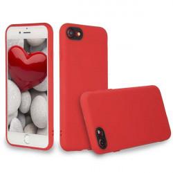 ETUI GUMA SMOOTH PROTECT NA TELEFON APPLE IPHONE 11 CZERWONY