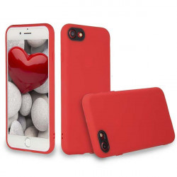 ETUI GUMA SMOOTH PROTECT NA TELEFON APPLE IPHONE 7 / 8 CZERWONY