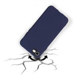 ETUI GUMA SMOOTH PROTECT NA TELEFON APPLE IPHONE 7 / 8 GRANATOWY
