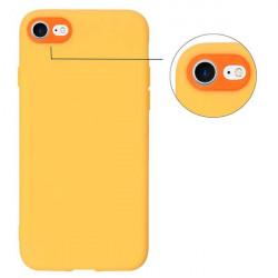 ETUI GUMA SMOOTH PROTECT NA TELEFON APPLE IPHONE X / XS POMARAŃCZOWY