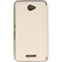 FLIP S-CASE ETUI NA TELEFON SONY XPERIA E4 E2104 E2105 BIAŁY