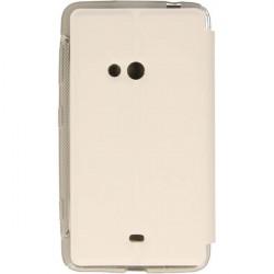 FLIP S-CASE ETUI NA TELEFON NOKIA LUMIA 625 RM-941 BIAŁY