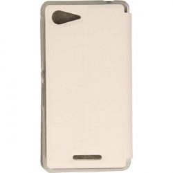 FLIP S-CASE ETUI NA TELEFON SONY XPERIA E3 D2202 D2203 D2206 D2243 BIAŁY