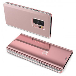ETUI BOOK CLEAR VIEW NA TELEFON LG K41S / K51S RÓŻOWY