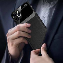 ETUI SKÓRZANE DELICATE NA TELEFON APPLE IPHONE 7 / 8 CZARNY