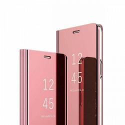 ETUI BOOK CLEAR VIEW NA TELEFON LG K61 RÓŻOWY