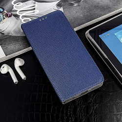 ETUI BOOK MAGNET NA TELEFON HUAWEI P SMART 2021 GRANATOWY