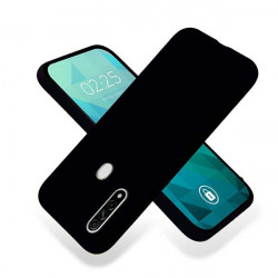 ETUI GUMA SMOOTH NA TELEFON OPPO A8 / A31 2020 CZARNY