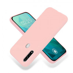 ETUI GUMA SMOOTH NA TELEFON OPPO A8 / A31 2020 PUDROWY RÓŻ