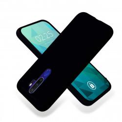 ETUI GUMA SMOOTH NA TELEFON OPPO A9 2020 CZARNY