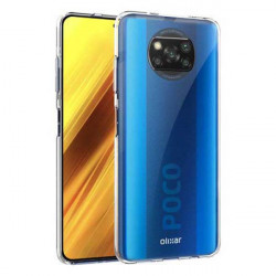 ETUI PROTECT CASE 2mm NA TELEFON XIAOMI POCO X3 NFC TRANSPARENT