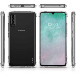 ETUI ANTI-SHOCK NA TELEFON SAMSUNG GALAXY A90 5G TRANSPARENT