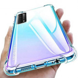 ETUI ANTI-SHOCK NA TELEFON HUAWEI P SMART 2021 TRANSPARENT